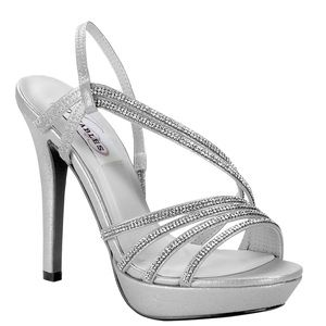 Size 8 silver shoes